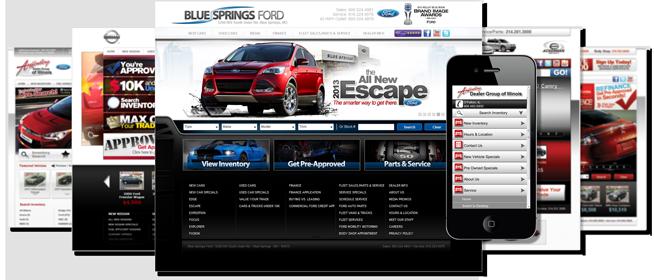 automotive dealer website company auto dealership websites for car dealers. Black Bedroom Furniture Sets. Home Design Ideas